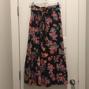 Floral Maxi Skit ,size -00P,Lined